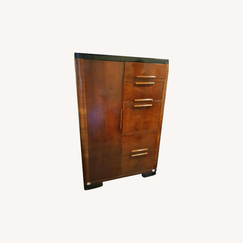 Vintage Wood Dresser - image-0
