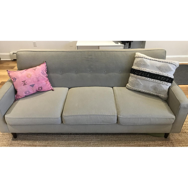 Macy's Corona Mid Century Modern Style Sofa - image-1