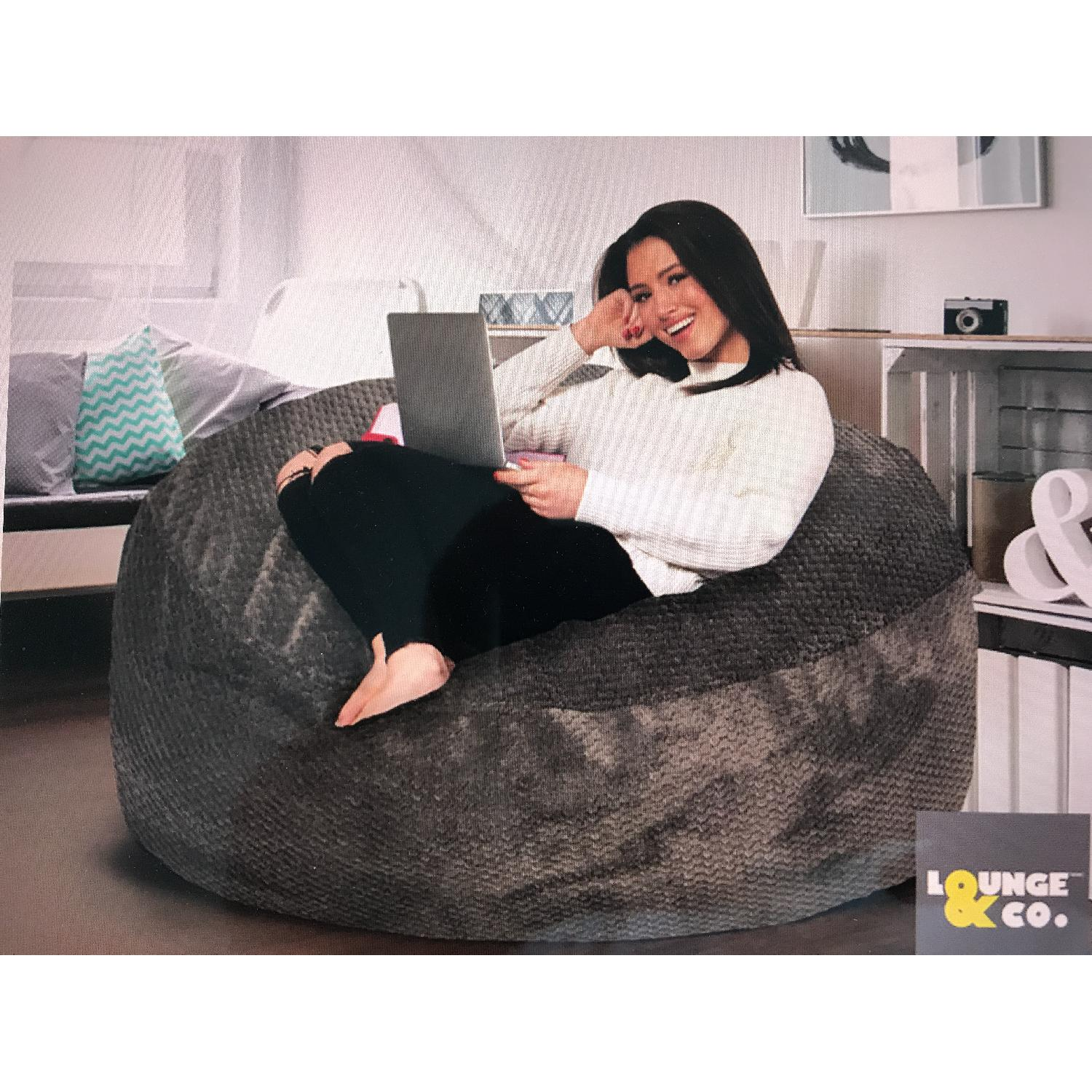 Lounge & Co Jumbo Foam Bean Bag - image-1