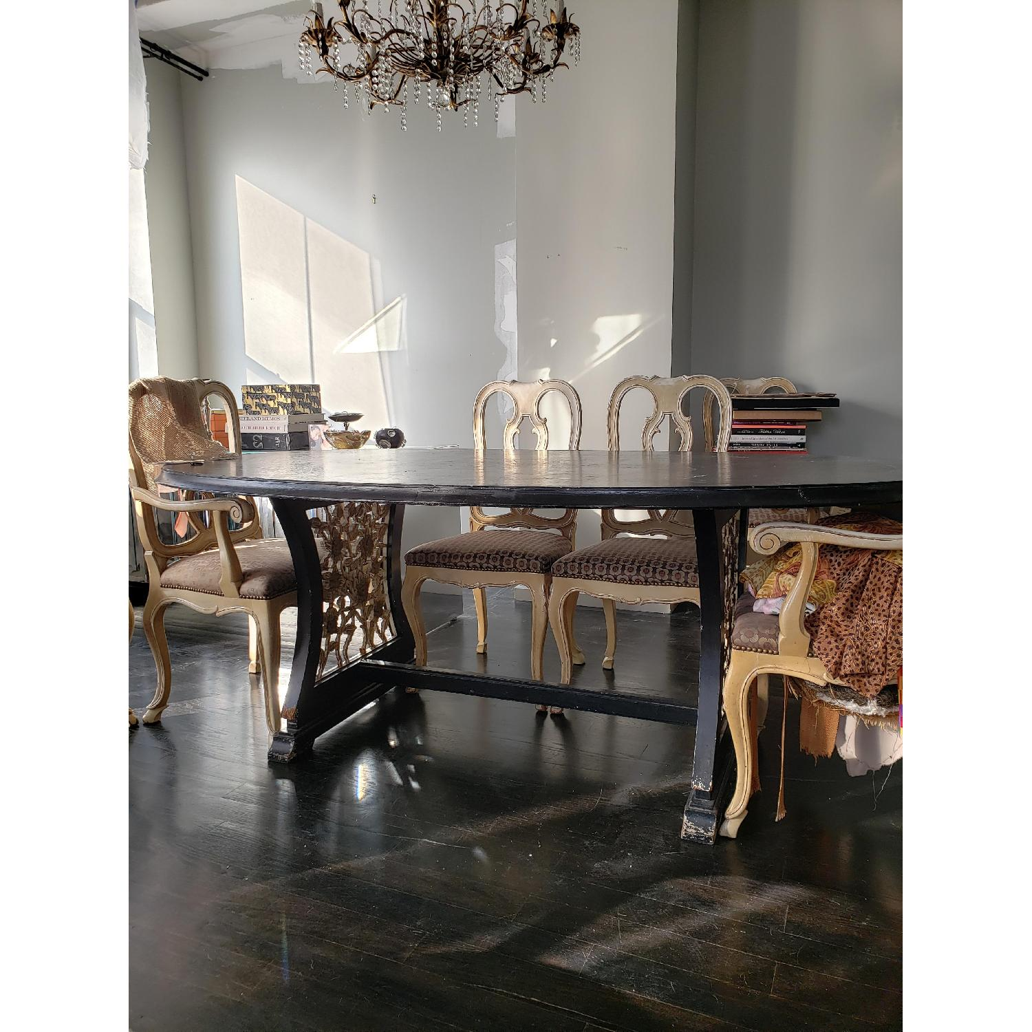 James Mont Style Dining Table - image-1