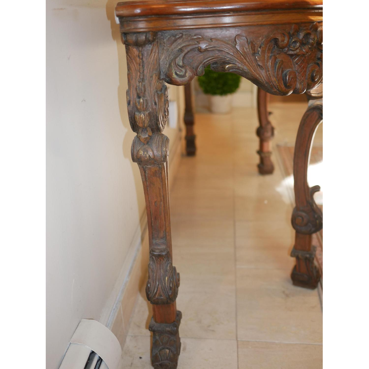 Antique American Console Table - image-1