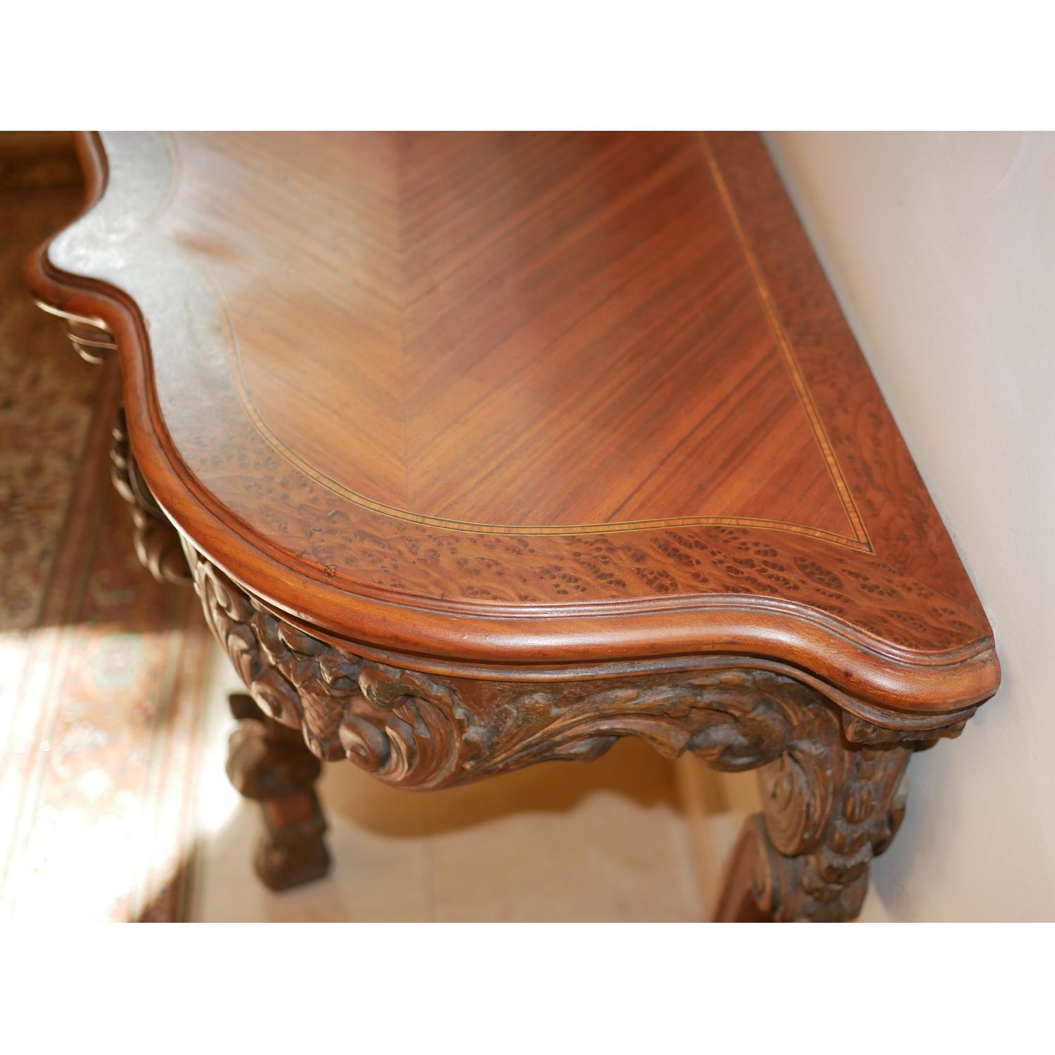Antique American Console Table - image-2