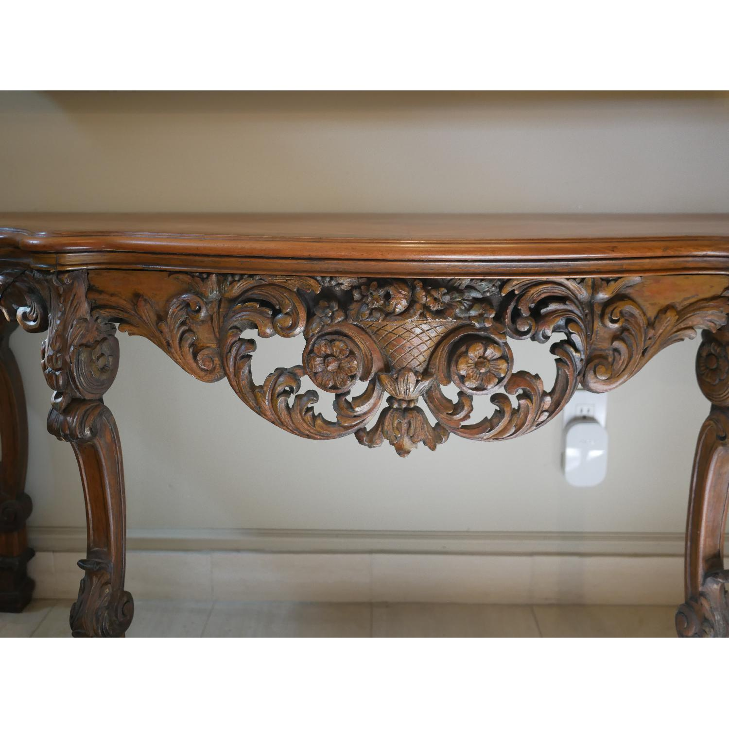 Antique American Console Table - image-6