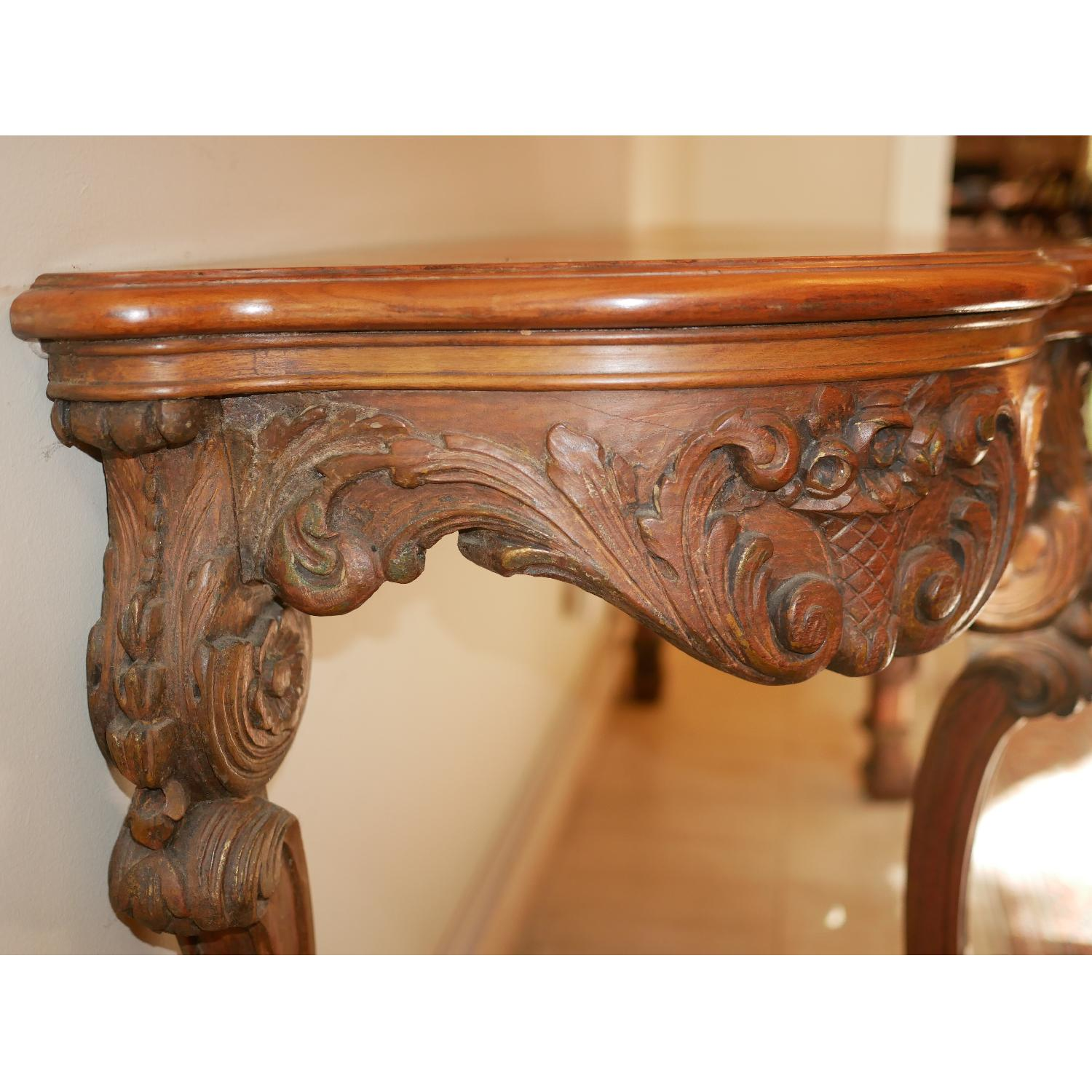 Antique American Console Table - image-7