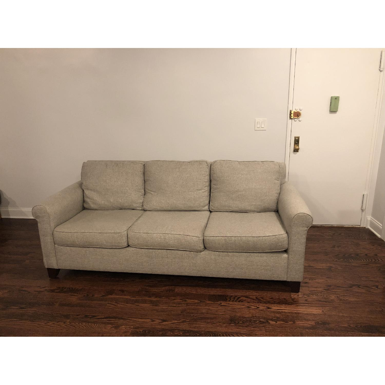 Pottery Barn Cameron Upholstered Sofa - image-1
