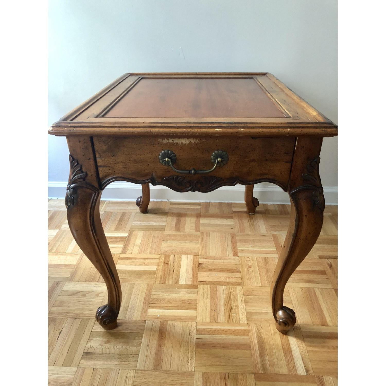 Superior Furniture Queen Anne Tea Table - image-1