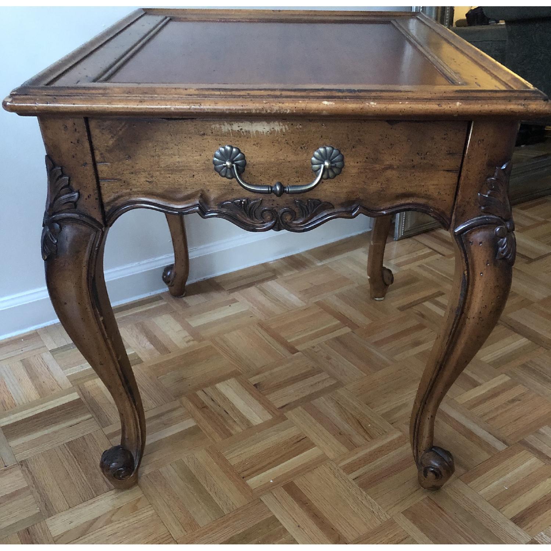 Superior Furniture Queen Anne Tea Table - image-2