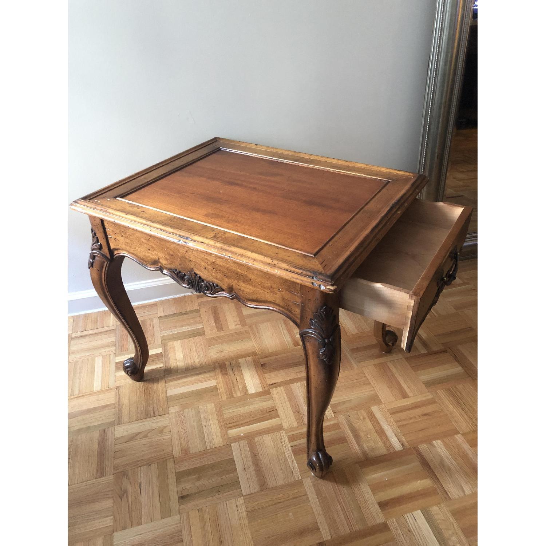 Superior Furniture Queen Anne Tea Table - image-5