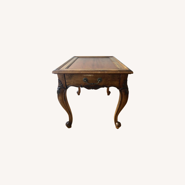 Superior Furniture Queen Anne Tea Table - image-0