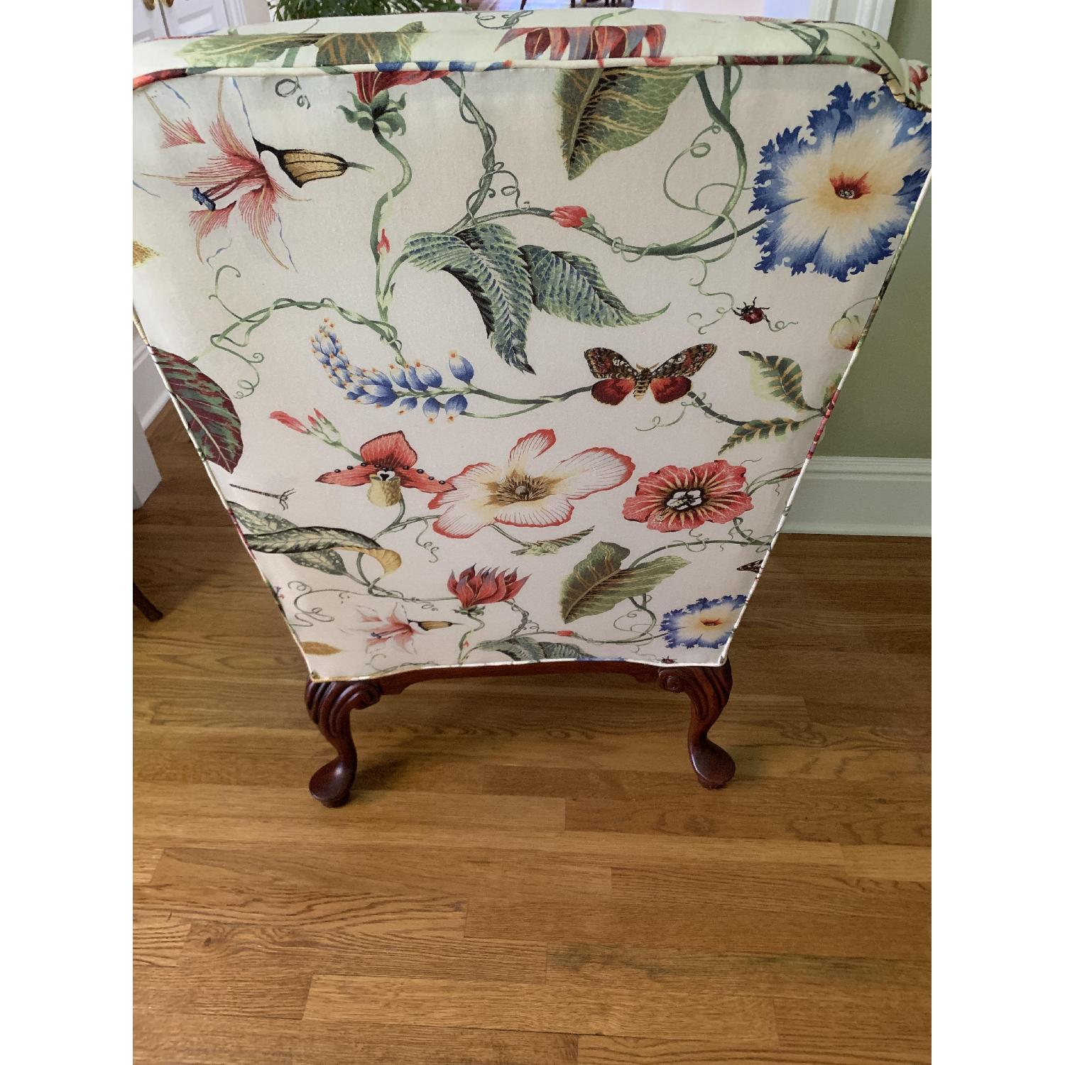 Floral Wing Chair - image-4