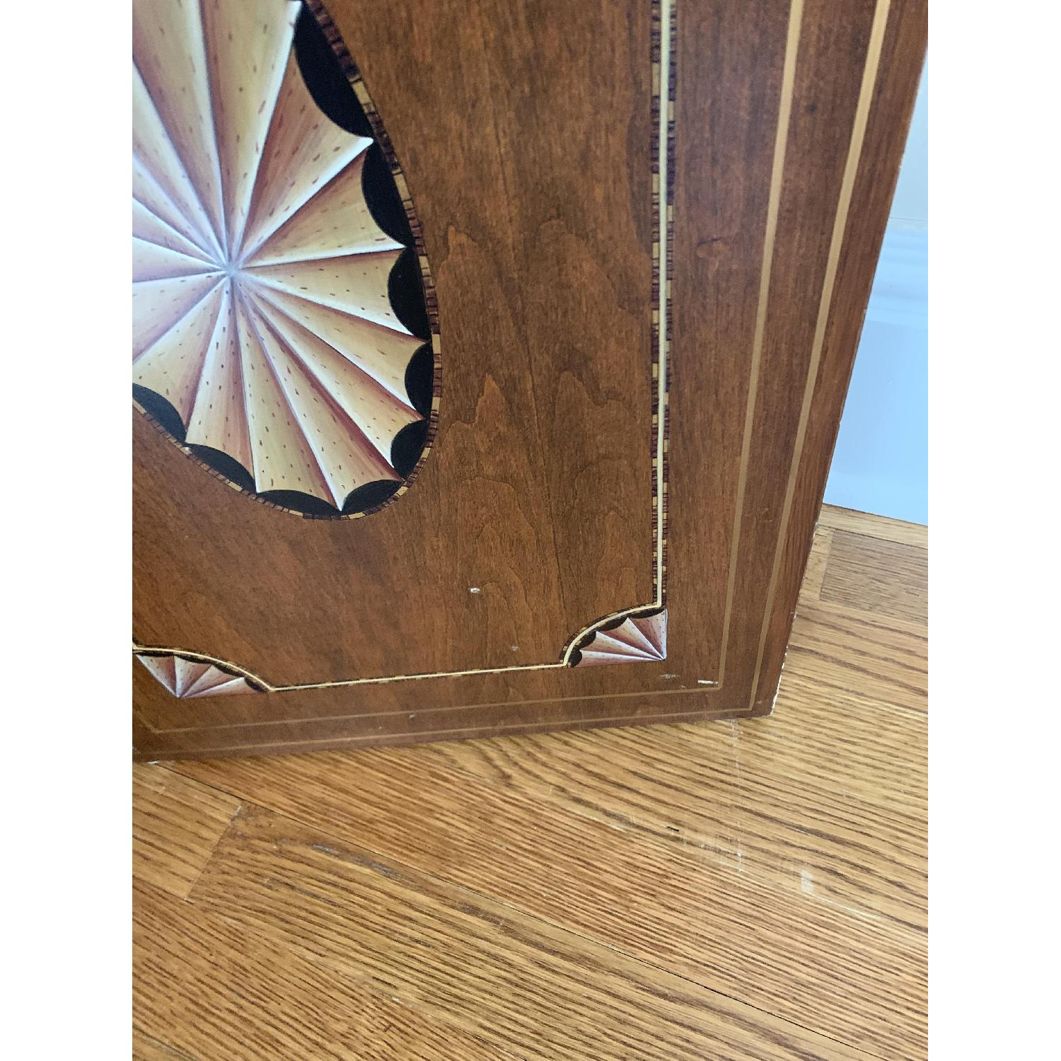 Maitland-Smith Tooled Leather Book Room Divider - image-2