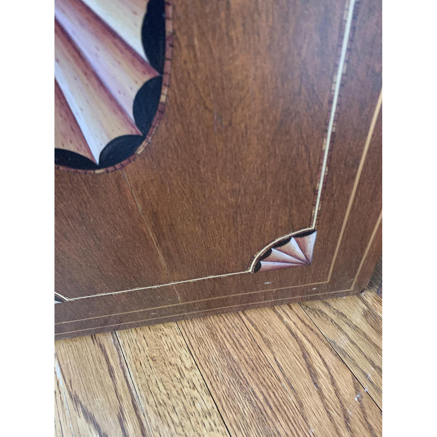 Maitland-Smith Tooled Leather Book Room Divider - image-4
