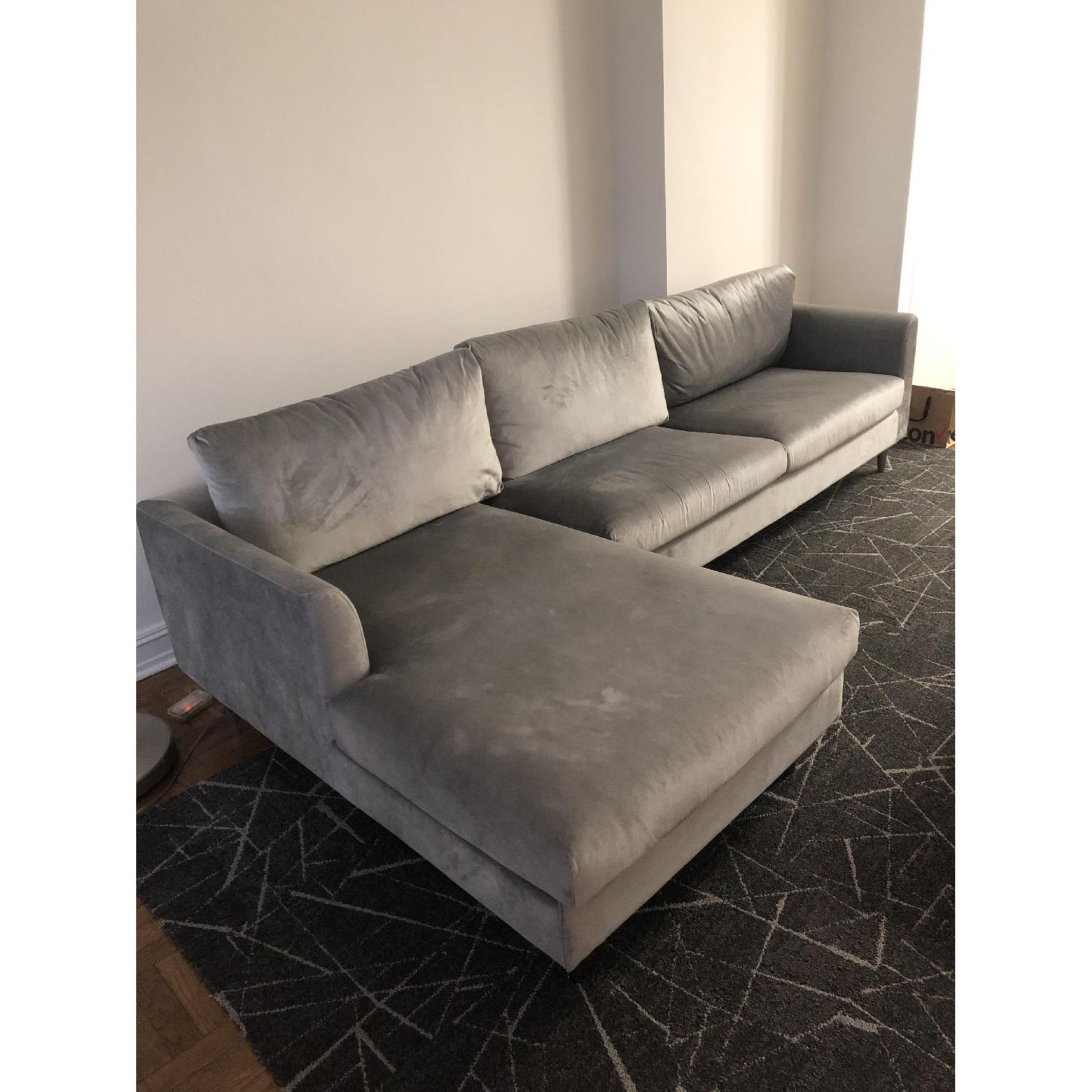 Interior Define Owens Sectional Sofa w/ Left Chaise - image-1