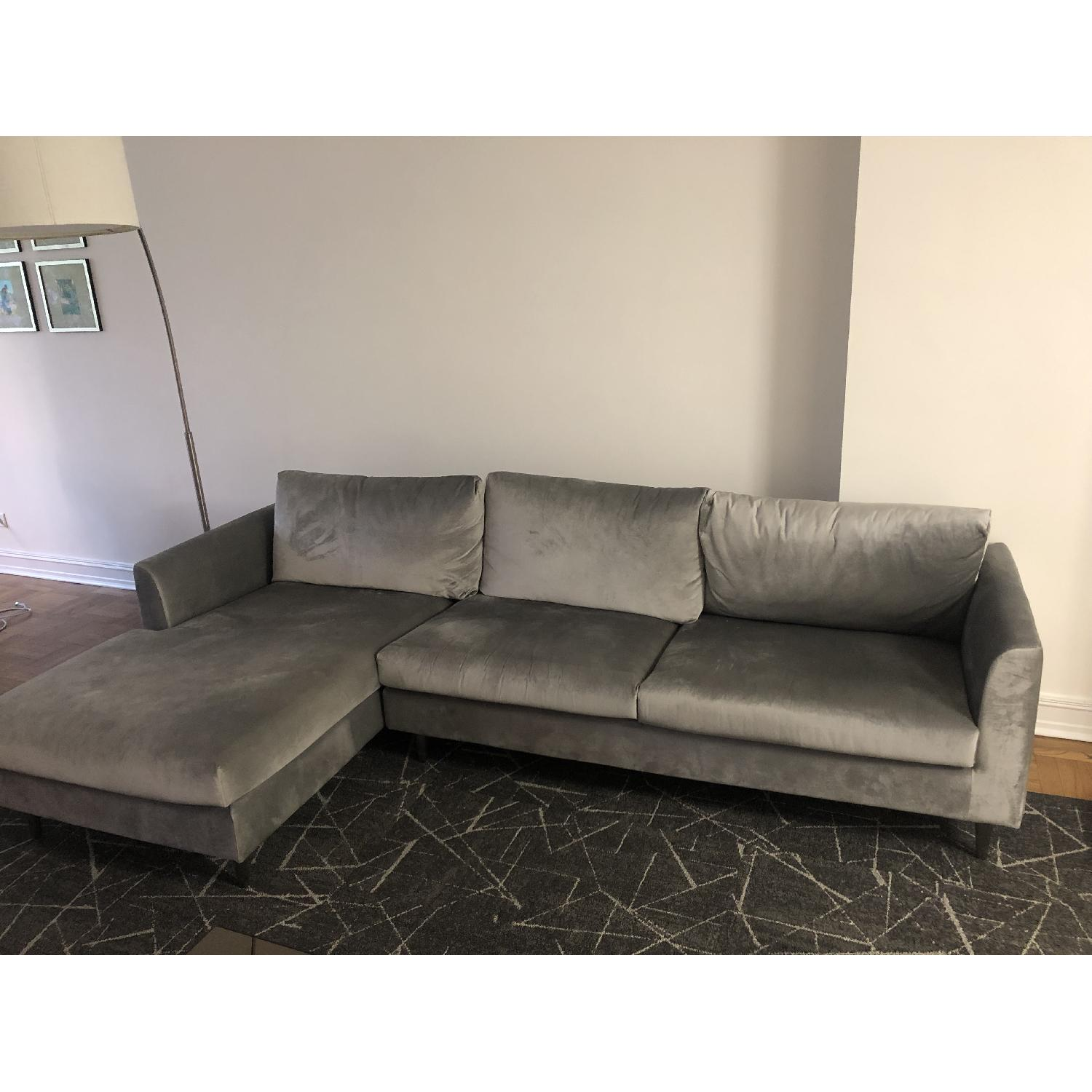 Interior Define Owens Sectional Sofa w/ Left Chaise - image-2
