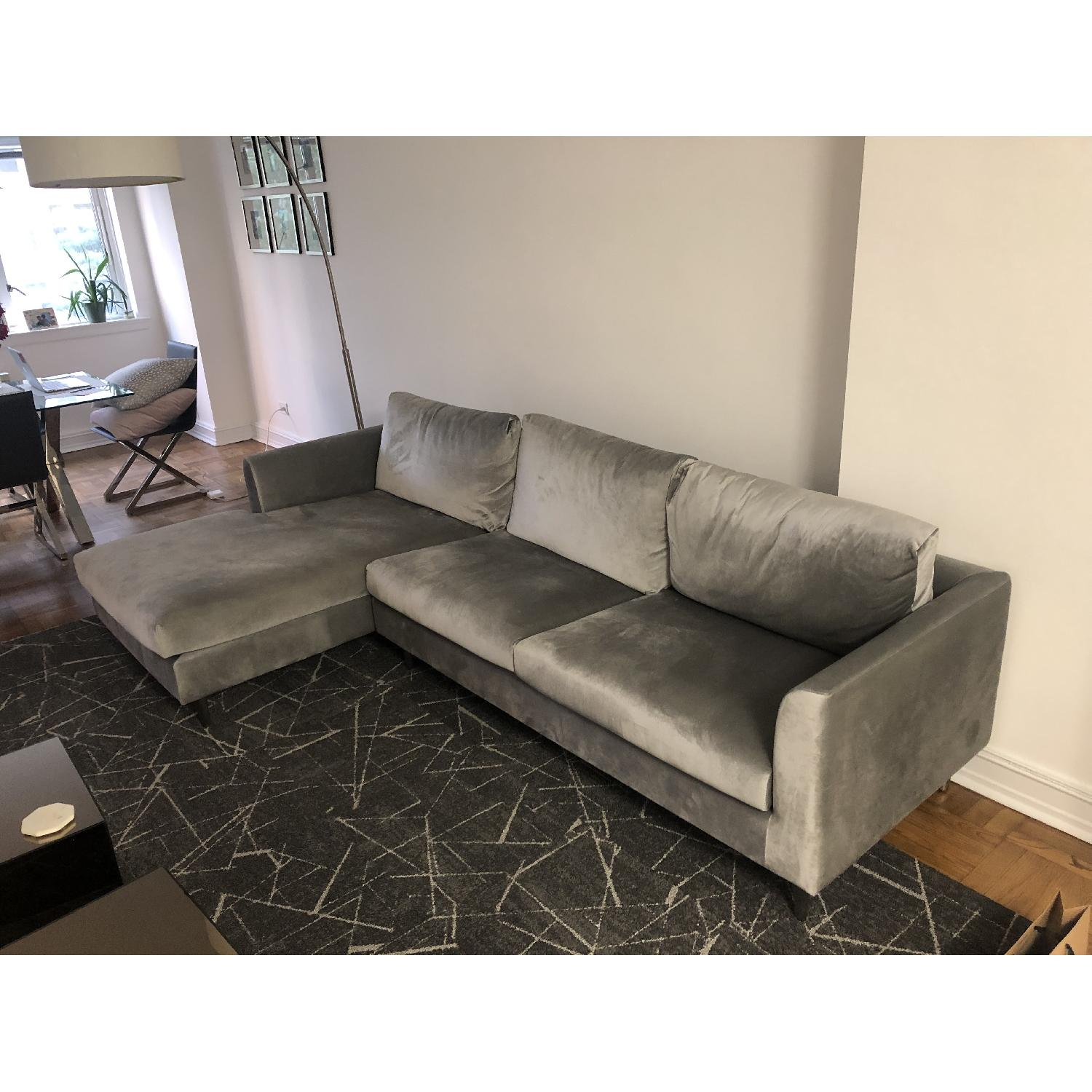 Interior Define Owens Sectional Sofa w/ Left Chaise - image-3