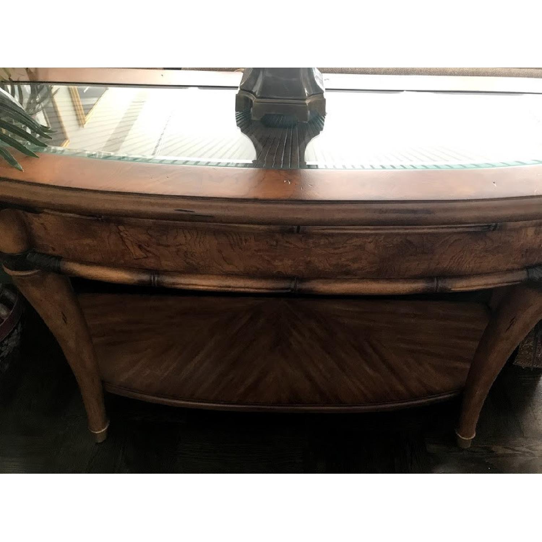 Schnadig Wood Sofa Table - image-1