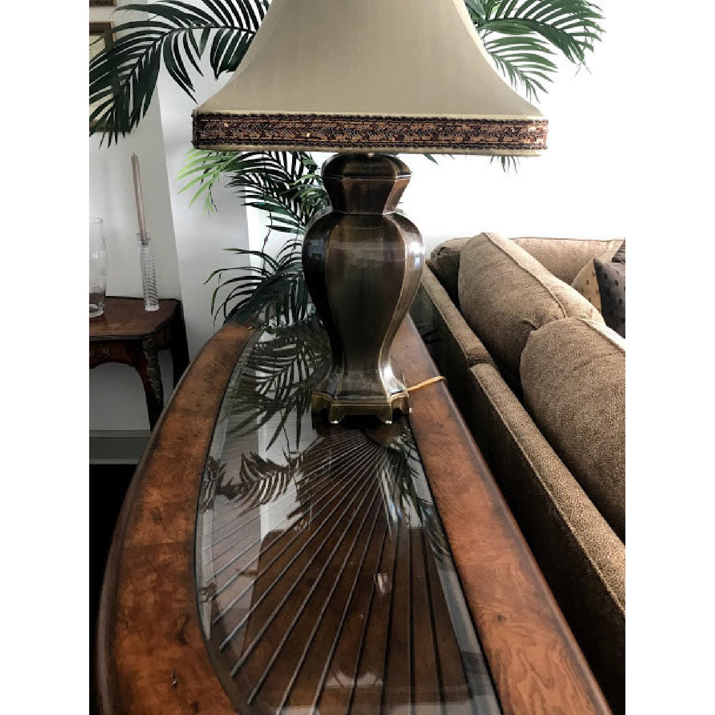 Schnadig Wood Sofa Table - image-5
