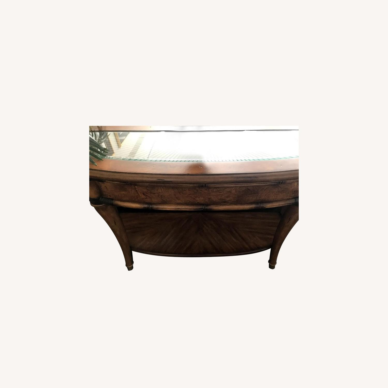 Schnadig Wood Sofa Table - image-0