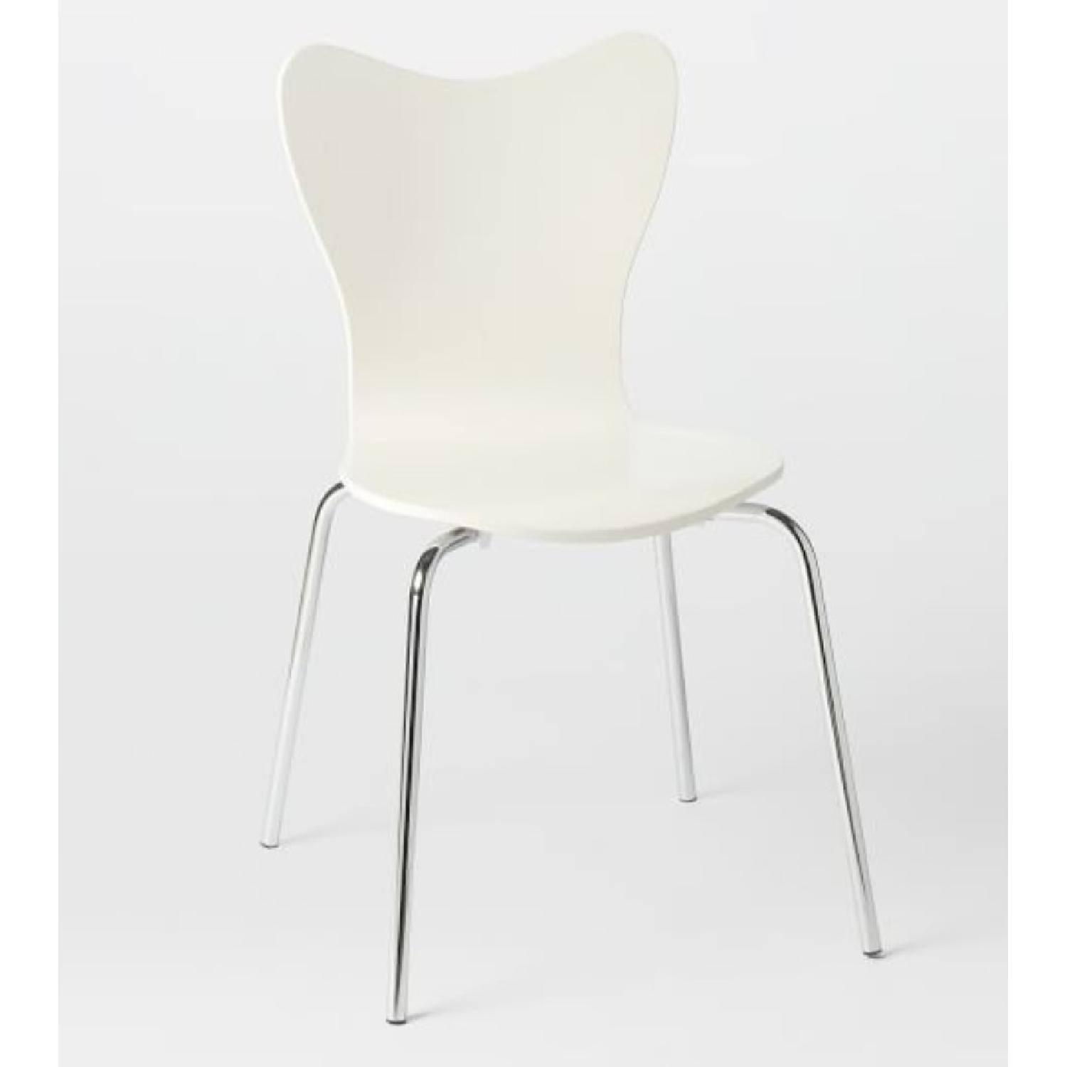 West Elm Scoop Back Dining Chair - image-1
