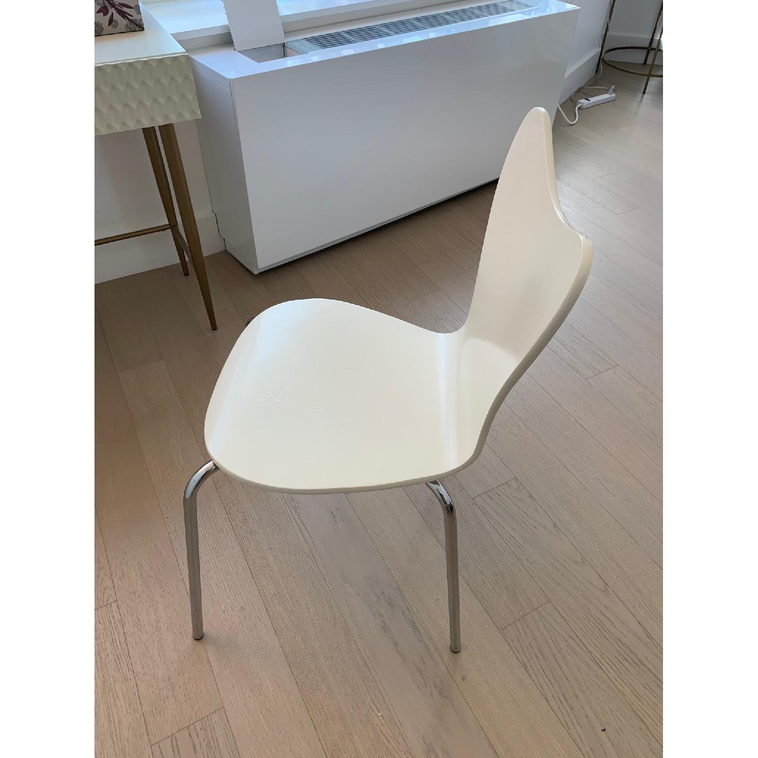 West Elm Scoop Back Dining Chair - image-3