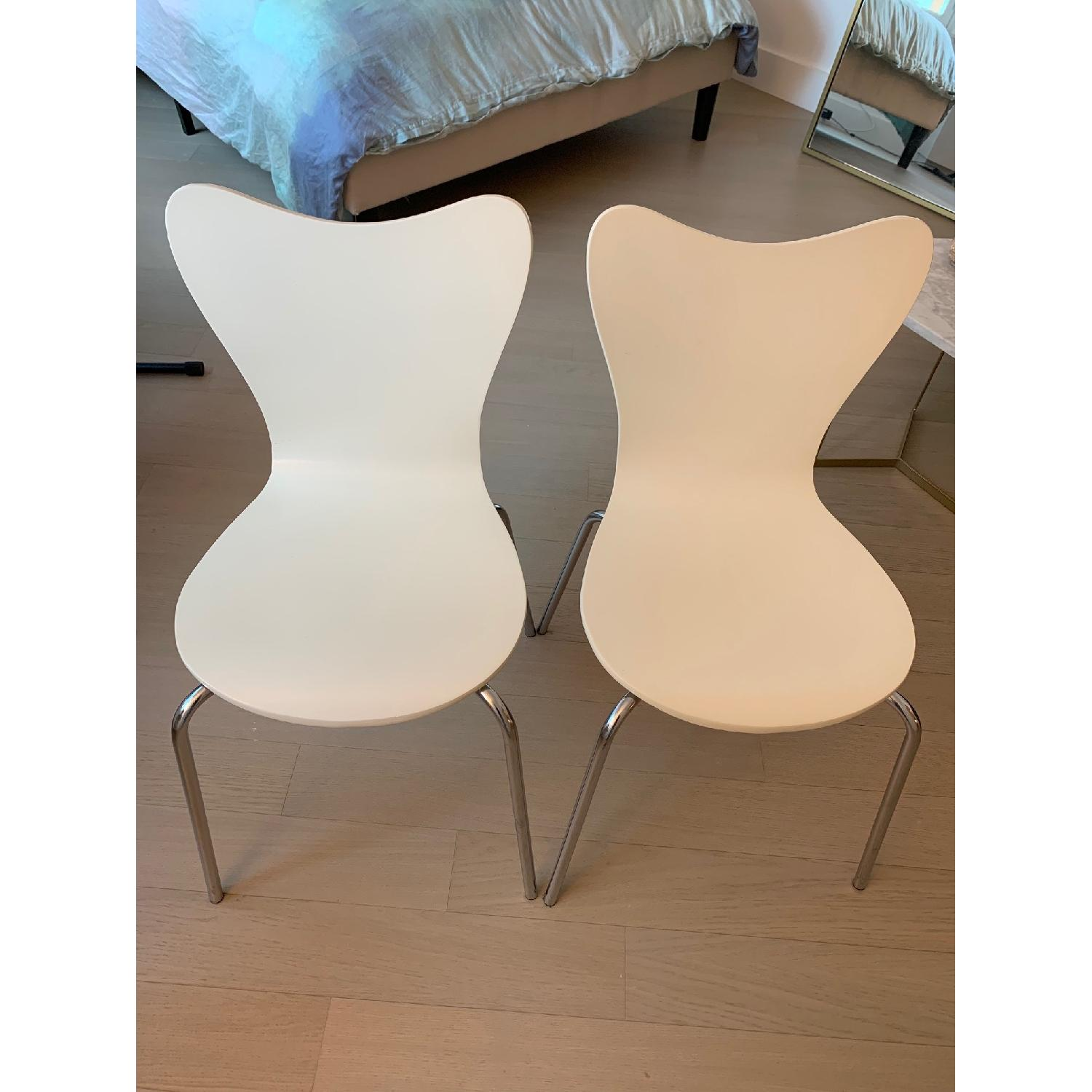 West Elm Scoop Back Dining Chair - image-5