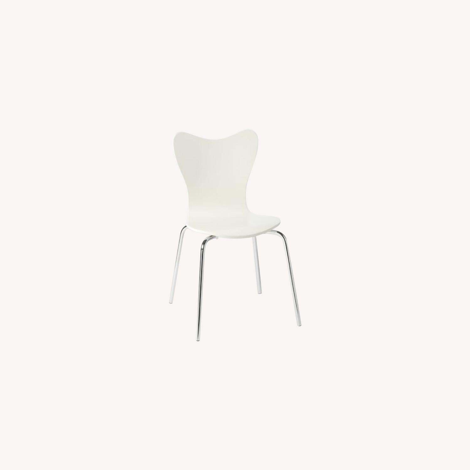 West Elm Scoop Back Dining Chair - image-0