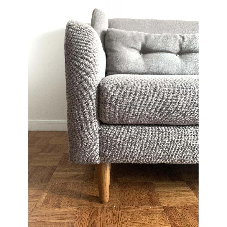 West Elm Crosby Mid-Century Sofa - image-3
