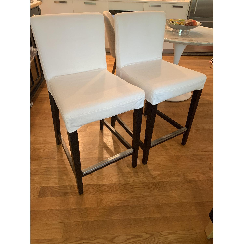 IKEA Upholstered Henriksdal Bar Stool - image-0