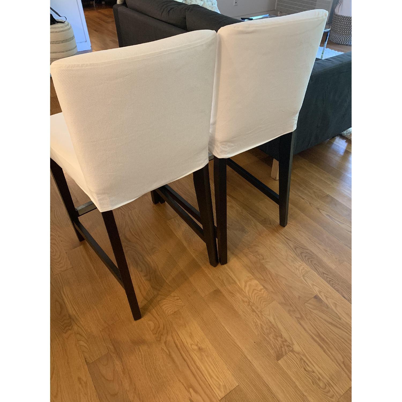 IKEA Upholstered Henriksdal Bar Stool - image-1
