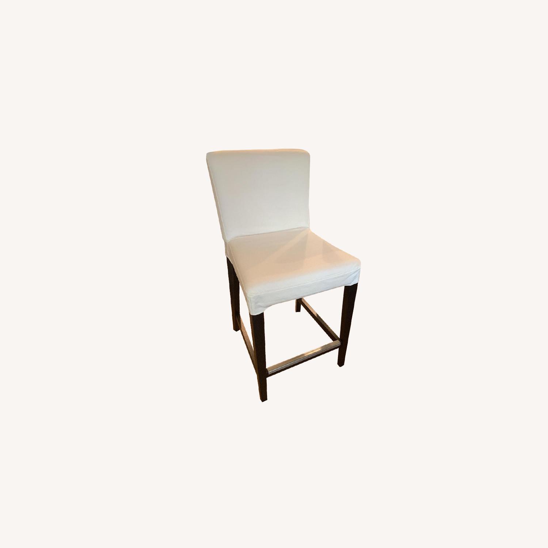 IKEA Upholstered Henriksdal Bar Stool - image-5