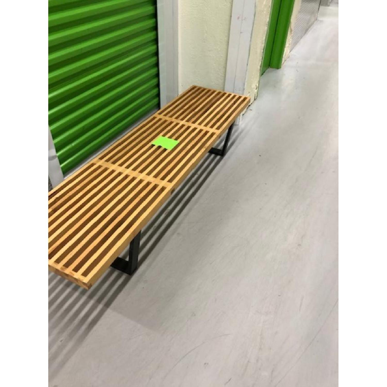 Mid-Century Style Bench - image-2