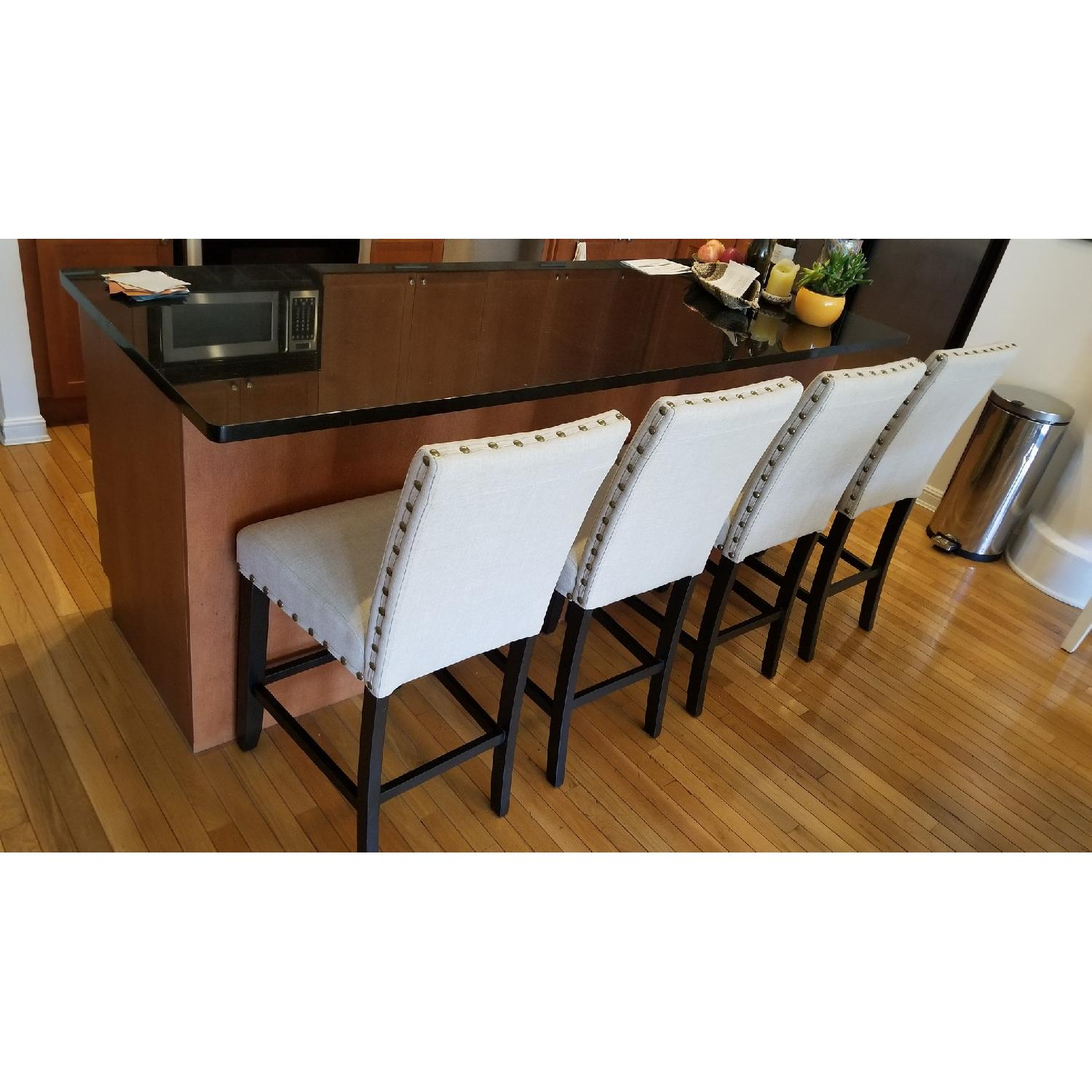 Upholstered Counter Height Stools - image-2
