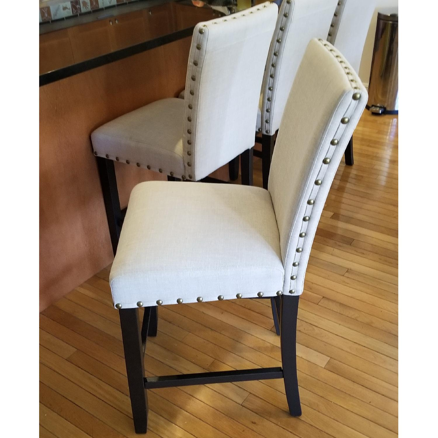 Upholstered Counter Height Stools - image-3