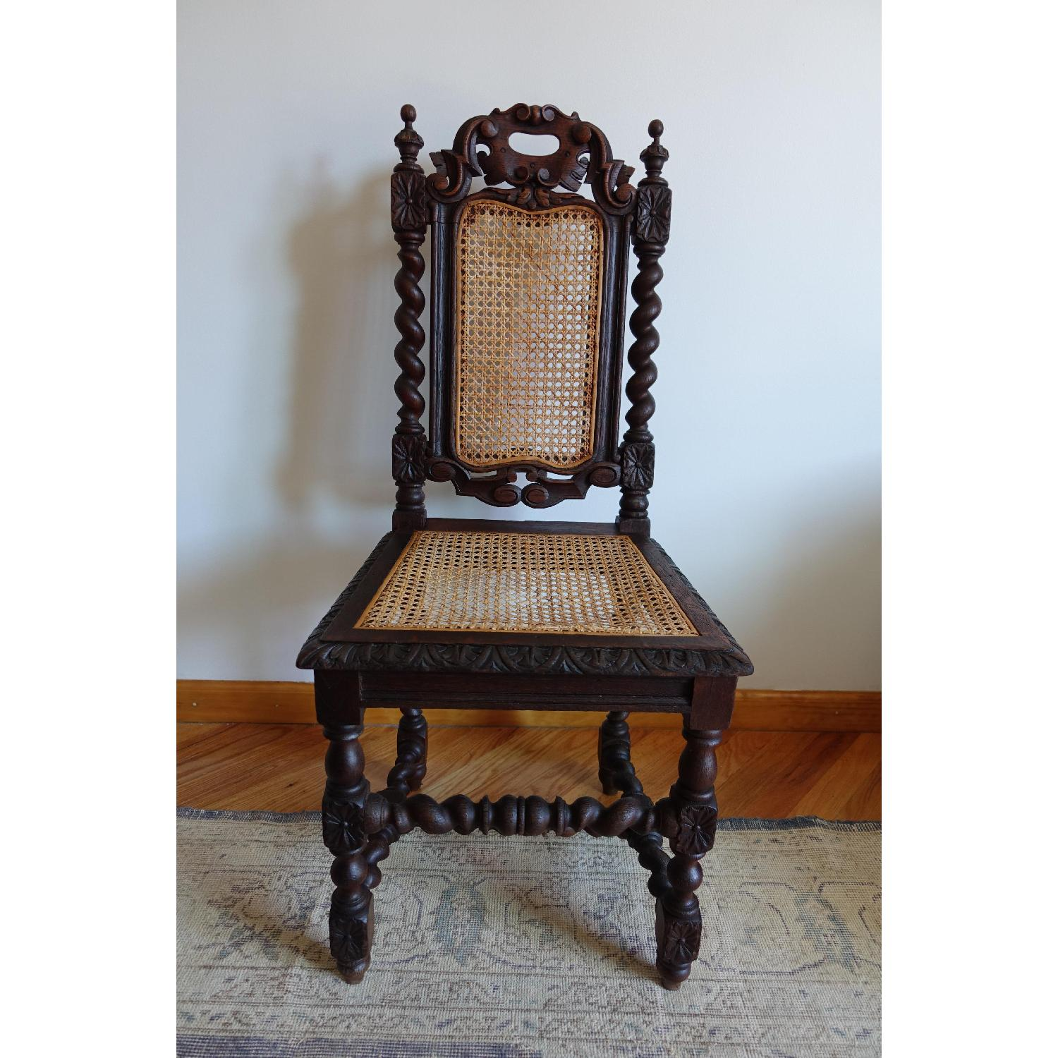 Antique French Colonial 19th Century Chair - image-1