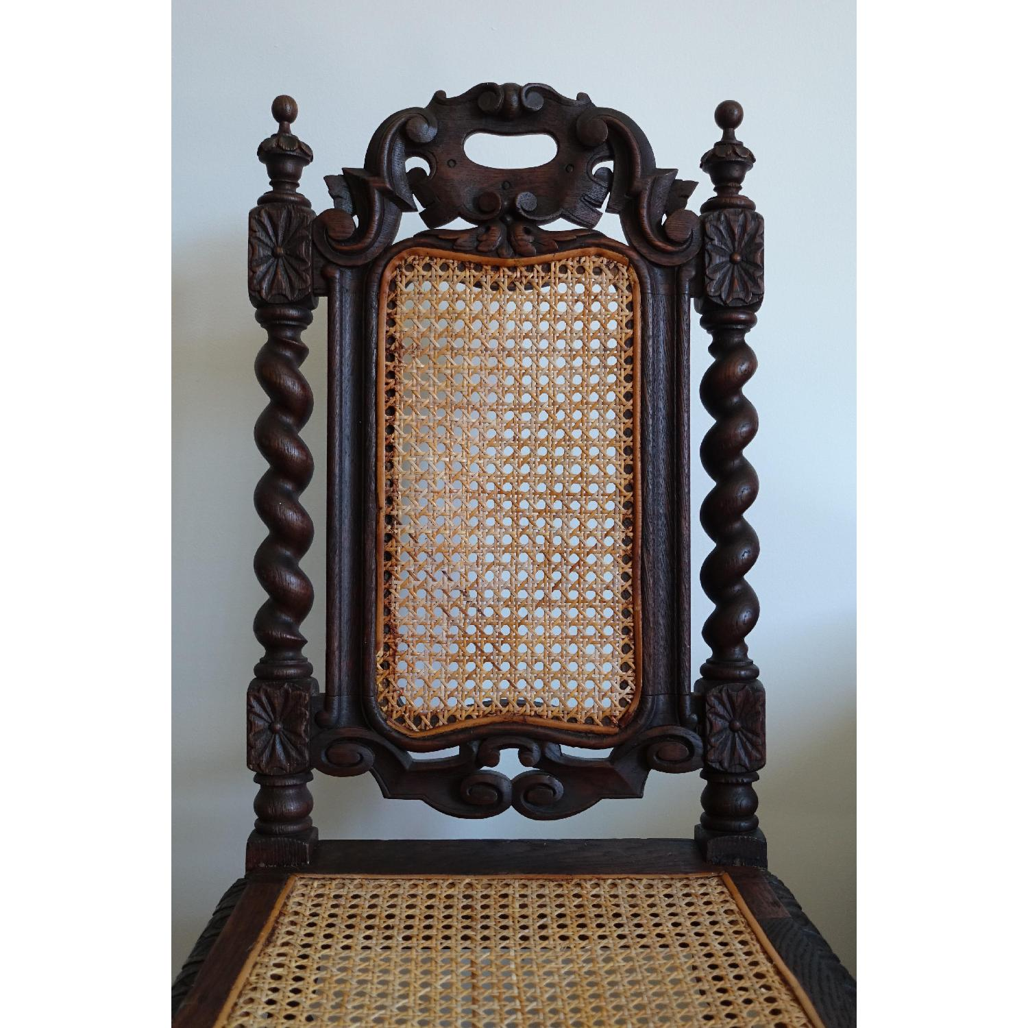 Antique French Colonial 19th Century Chair - image-2