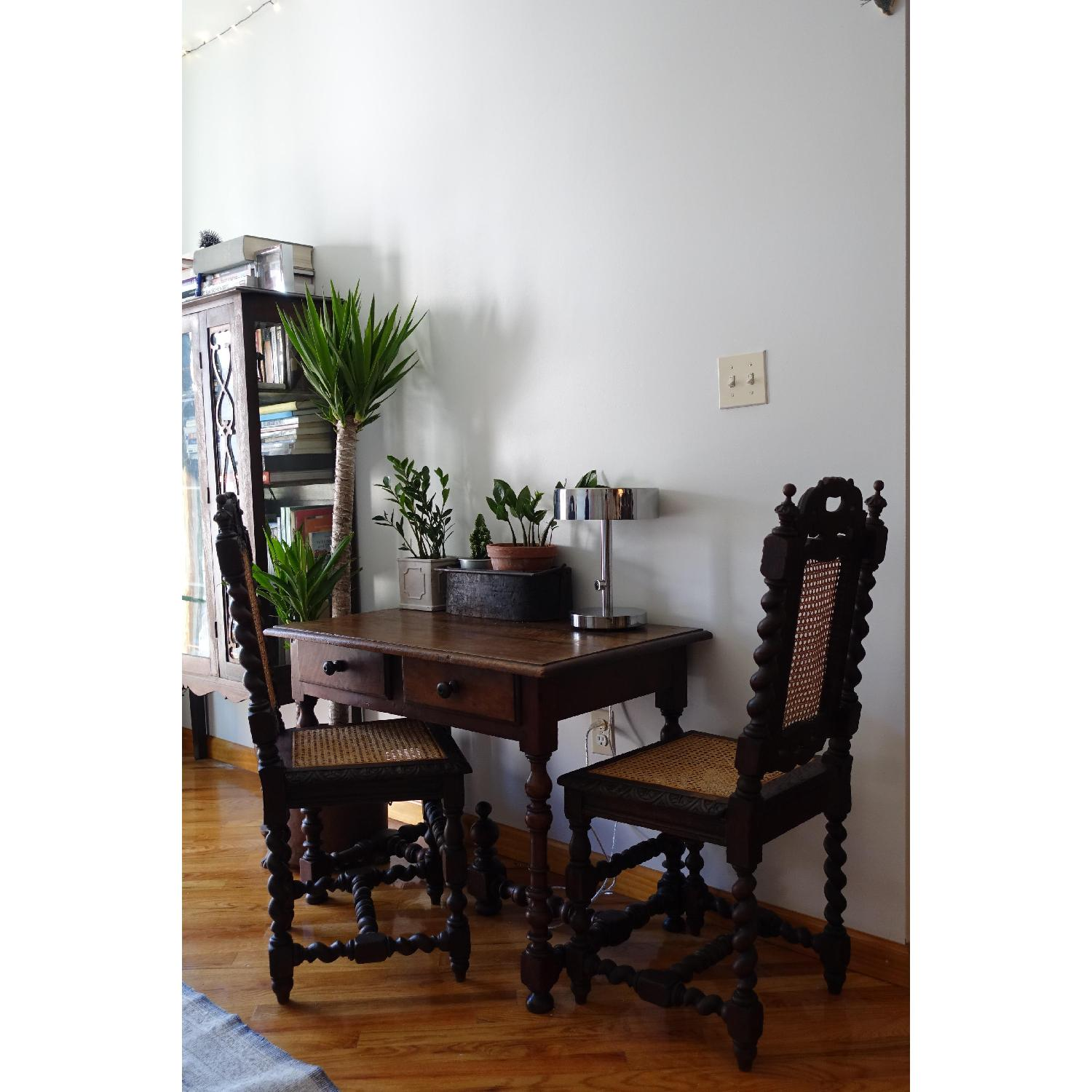 Antique French Colonial 19th Century Chair - image-4