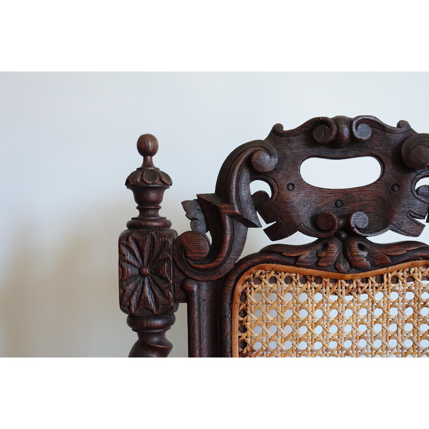 Antique French Colonial 19th Century Chair - image-7