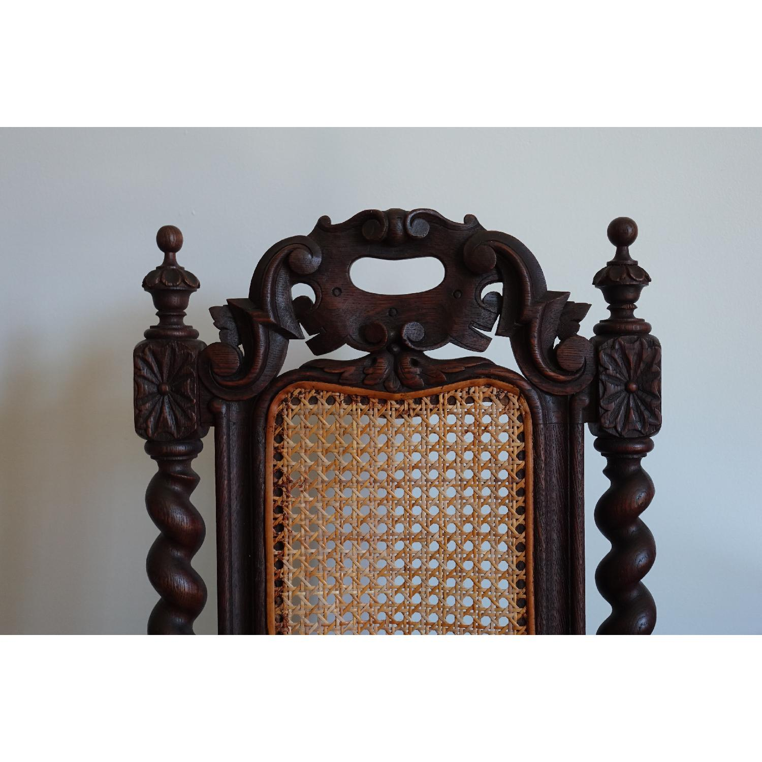 Antique French Colonial 19th Century Chair - image-6