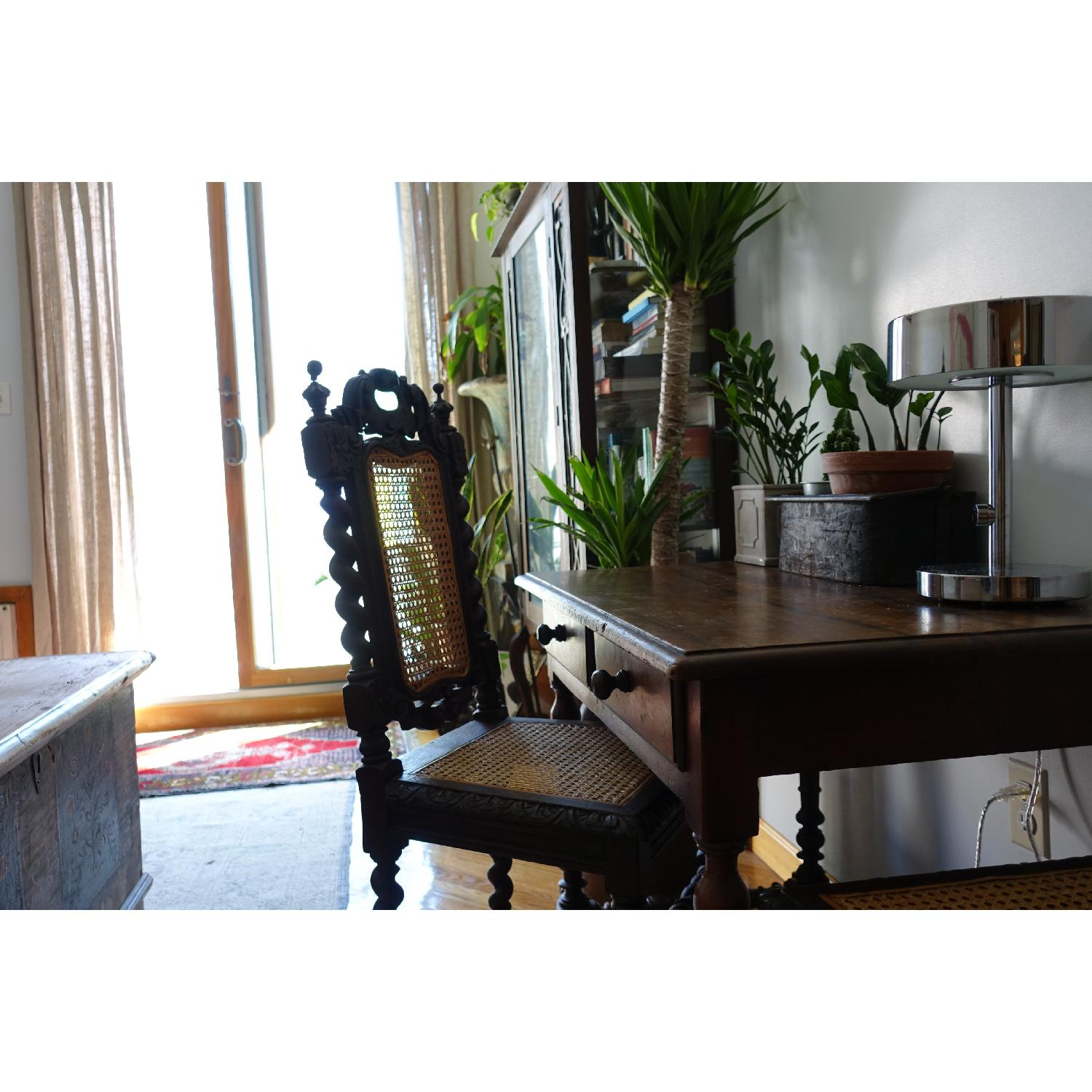 Antique French Colonial 19th Century Chair - image-9