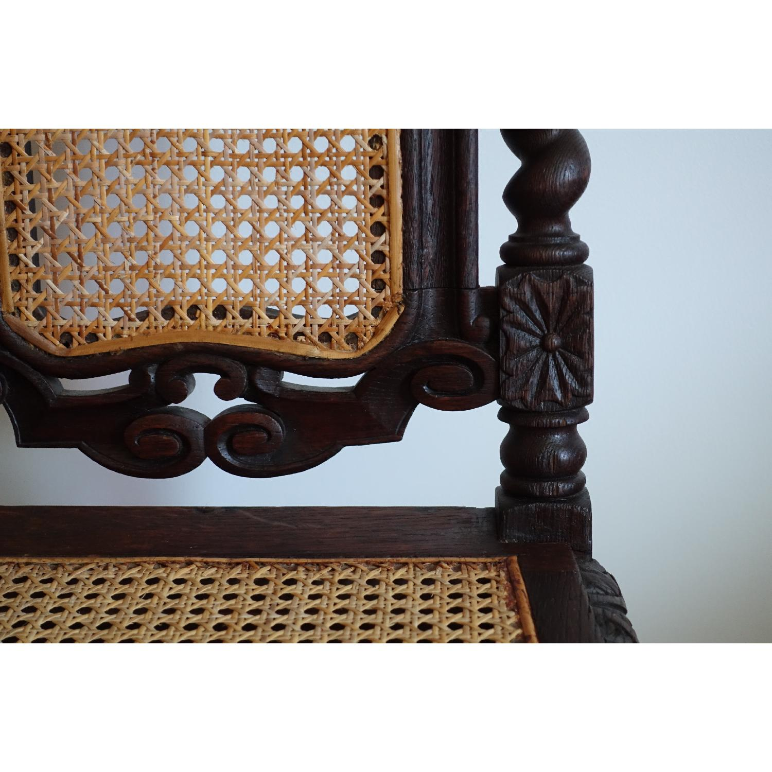 Antique French Colonial 19th Century Chair - image-12