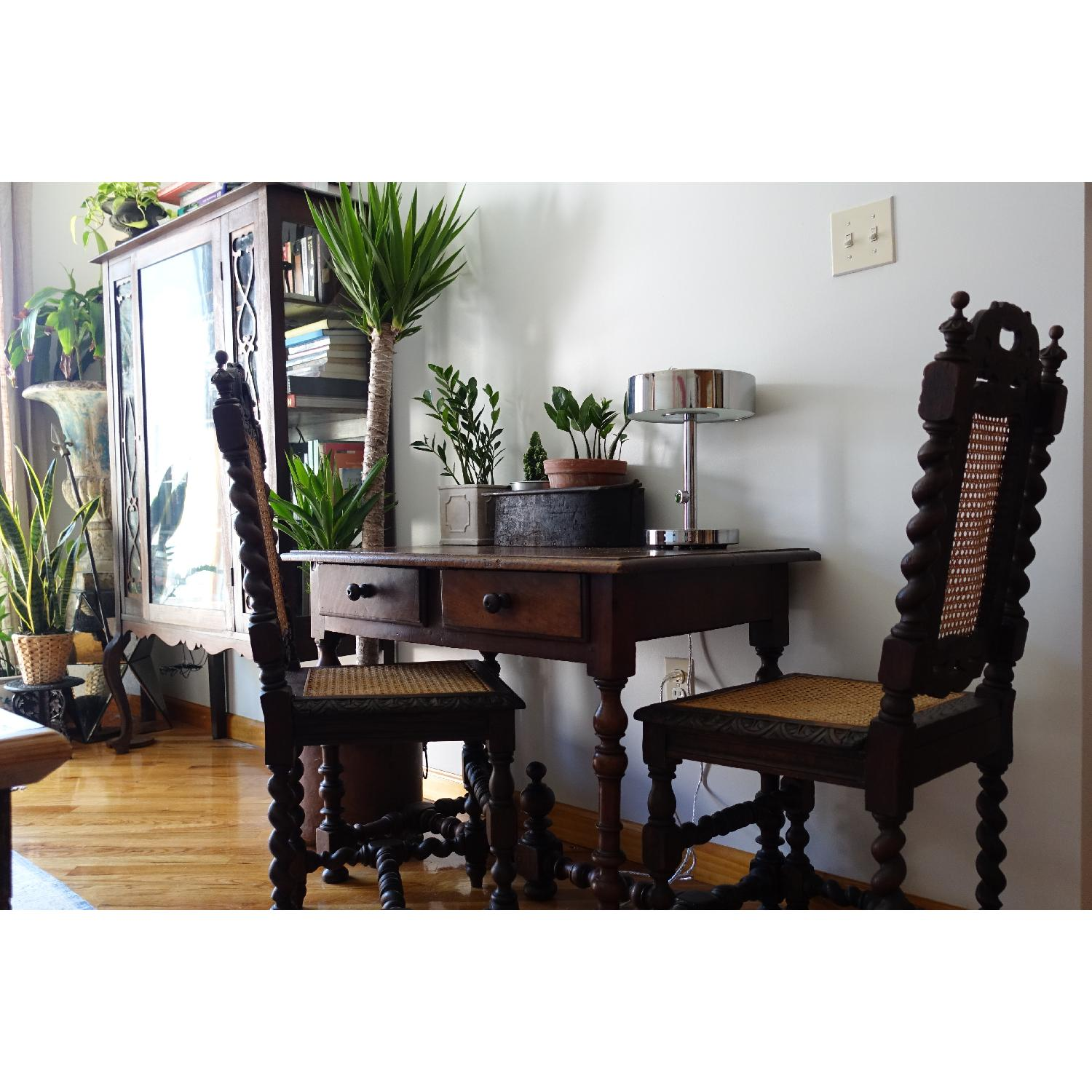 Antique French Colonial 19th Century Chair - image-11