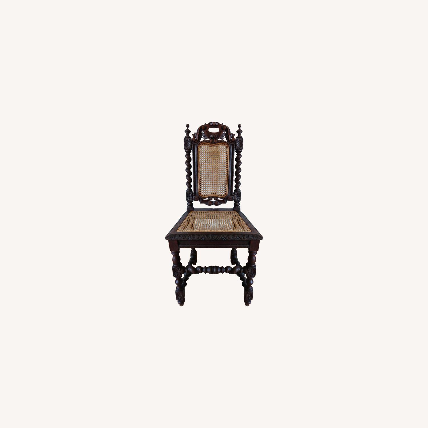 Antique French Colonial 19th Century Chair - image-0