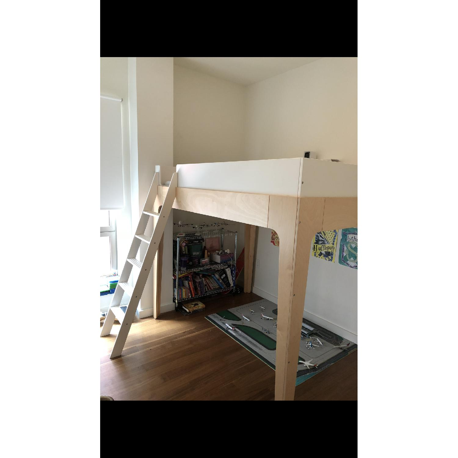 Oeuf Perch Full Size Loft Bed - image-1