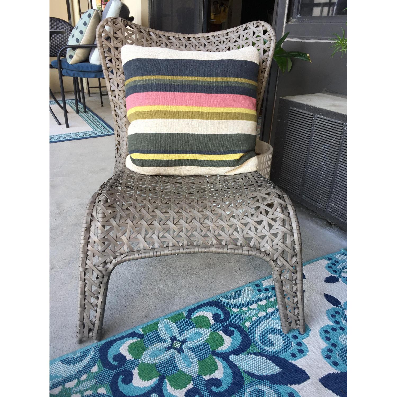 Allen + Roth Conversation Chair - image-4