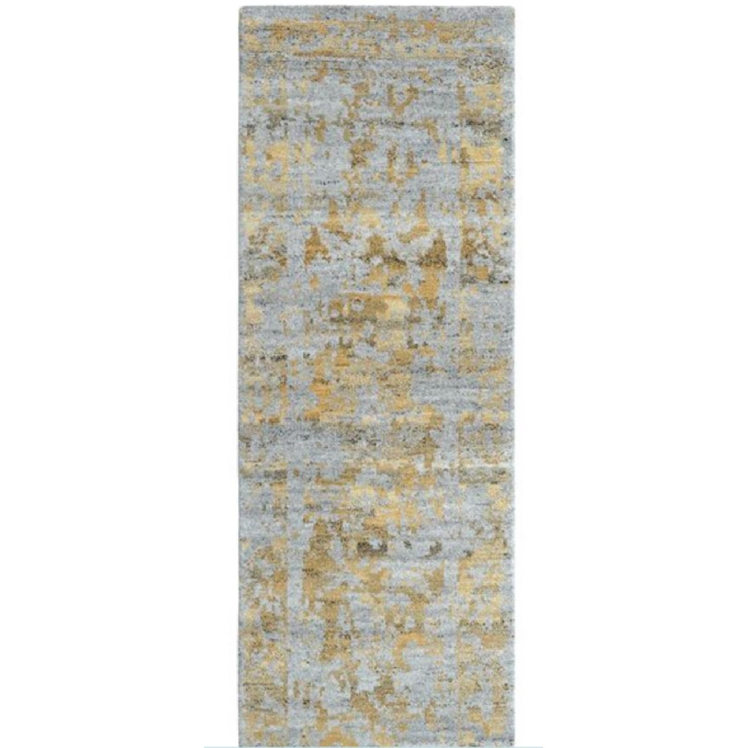 Company C Jasper Hand-Knotted Wool Gold/Gray Area Rug - image-1