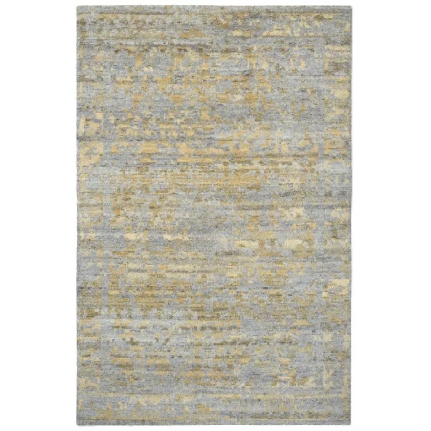 Company C Jasper Hand-Knotted Wool Gold/Gray Area Rug - image-0