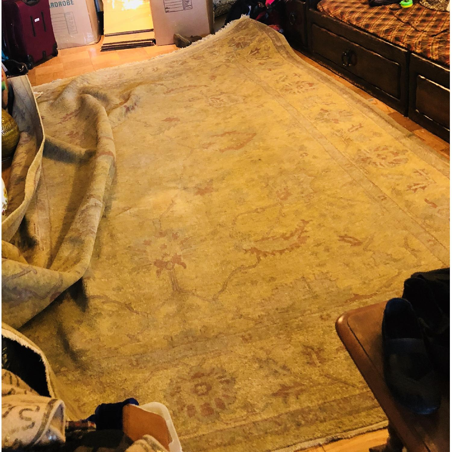 ABC Carpet and Home Beetie Classio Yellow Oriental Carpet - image-1