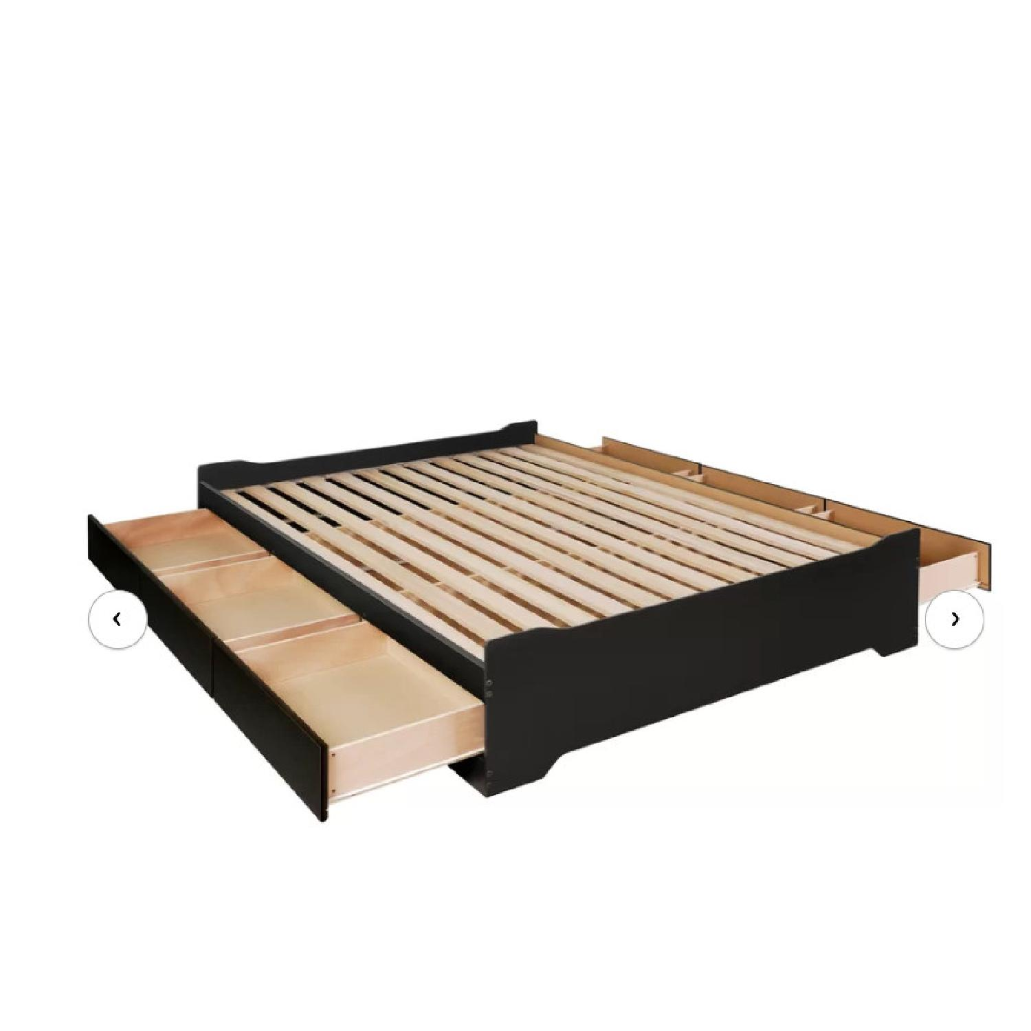 Zipcode Design Oleanna 6-Drawer Full-Size Storage Bed - image-1