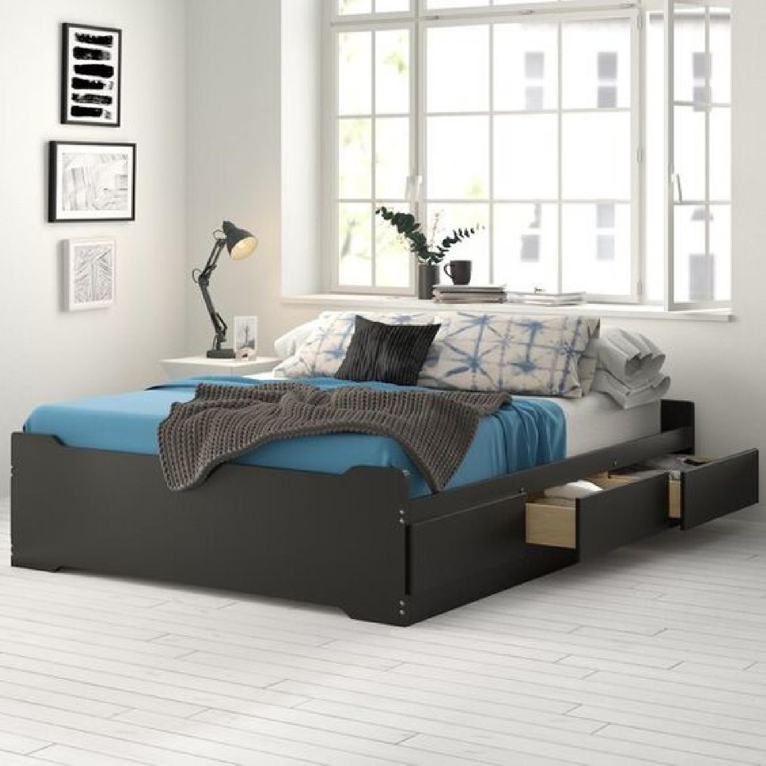 Zipcode Design Oleanna 6-Drawer Full-Size Storage Bed - image-2