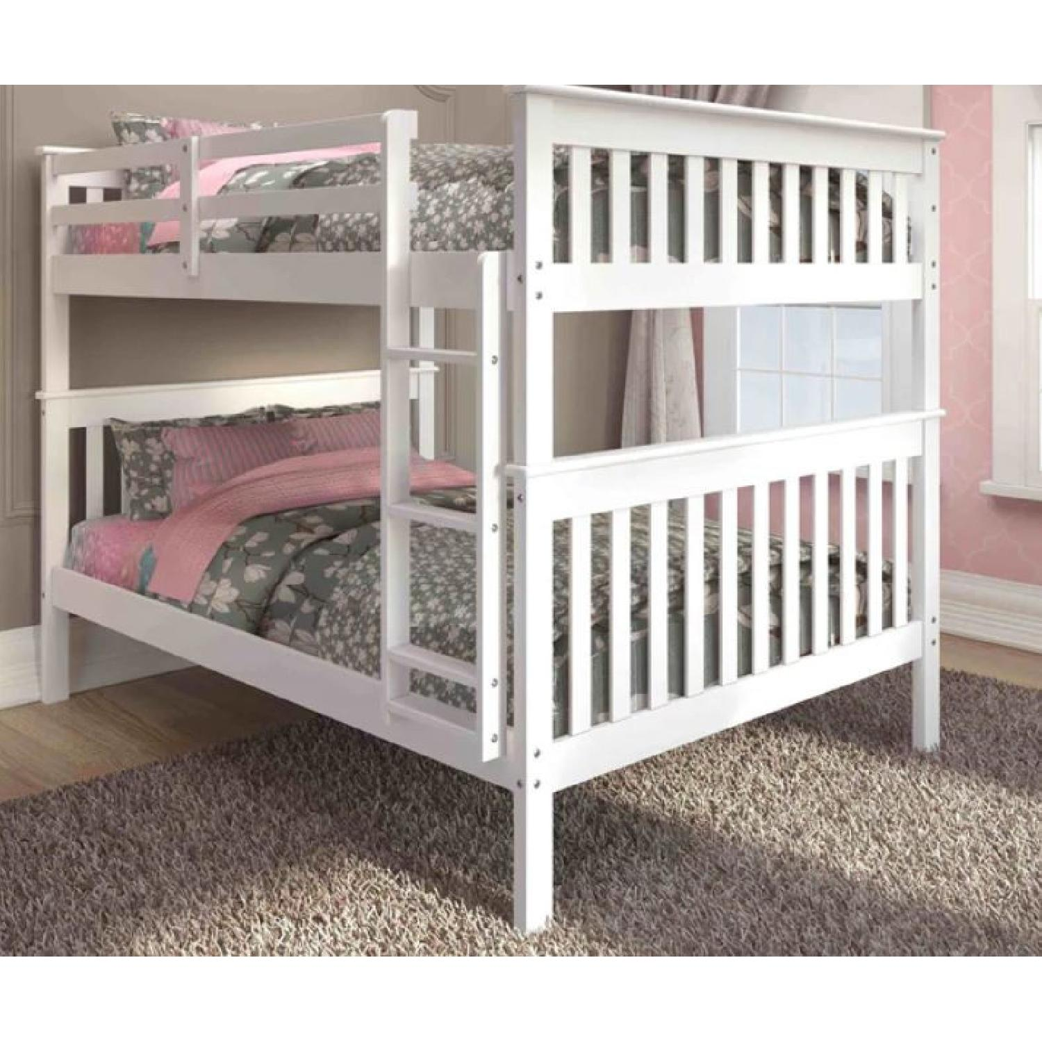 Donco Kids Mission Full Size Bunk Bed - image-1
